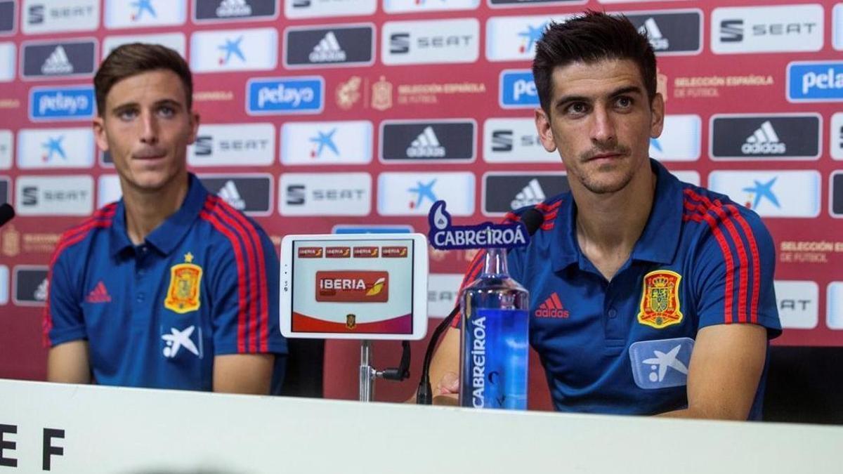 Pau Torres y Gerard Moreno, los dos 'groguets' de Luis Enrique