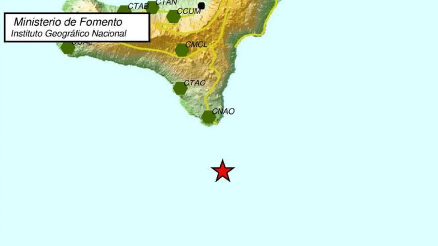El Hierro siente un terremoto de 3,9 de magnitud