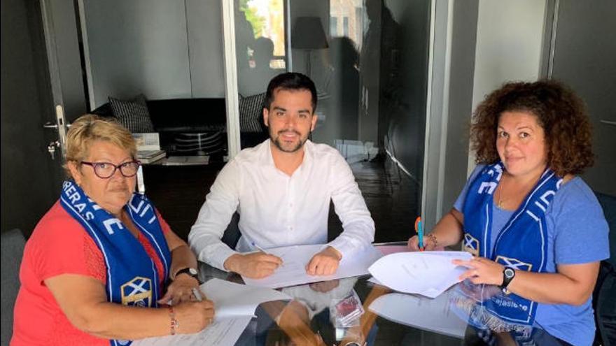 Granadilla y Geneto firman un acuerdo de filialidad