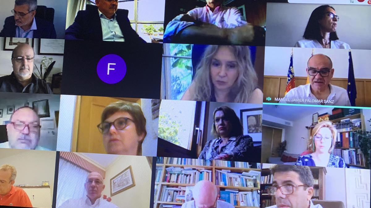 Última reunión del Consejo Social de la UA