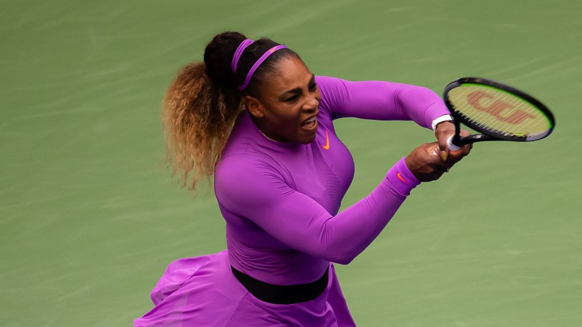Serena Williams en la final del US Open 2019