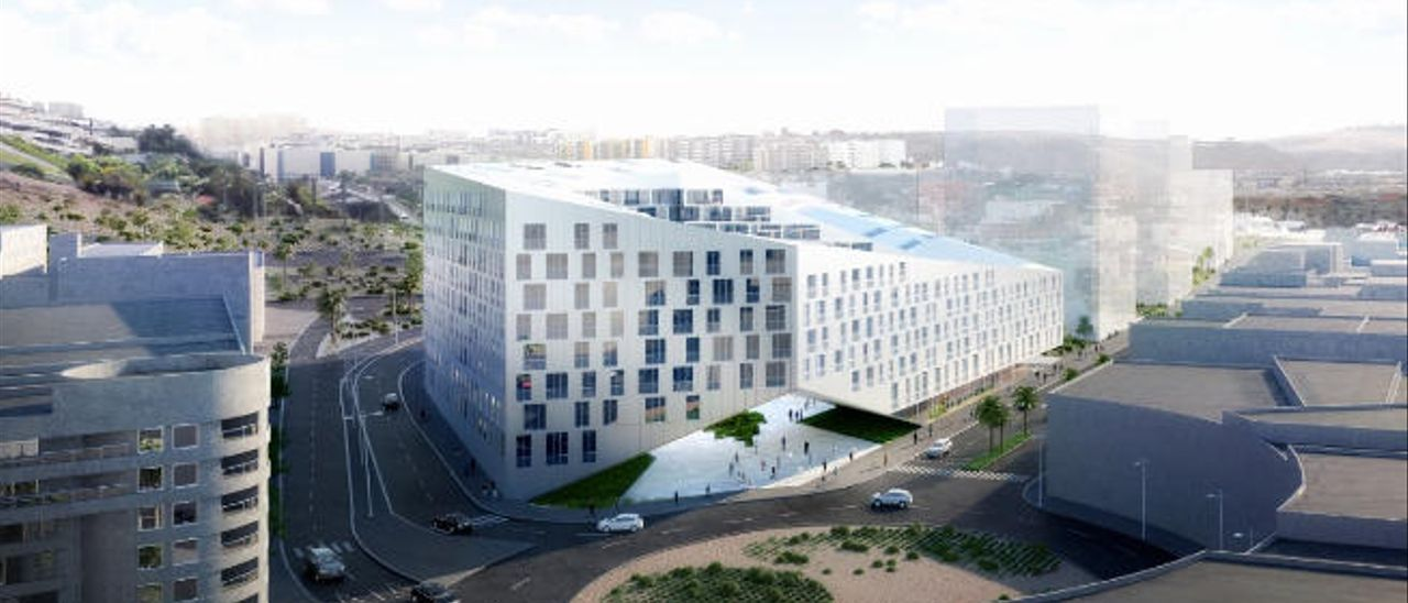 Vía libre a un nuevo edificio de 468 viviendas junto a la plaza de América