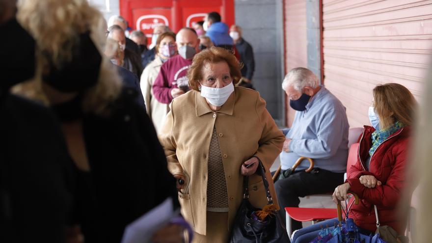 Suspenden la vacunación de hoy en Nueva Condomina por problemas logísticos