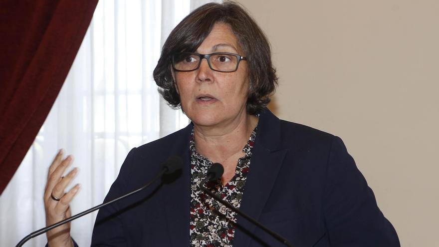 La alcaldesa, Eva García de la Torre. // Ricardo Grobas
