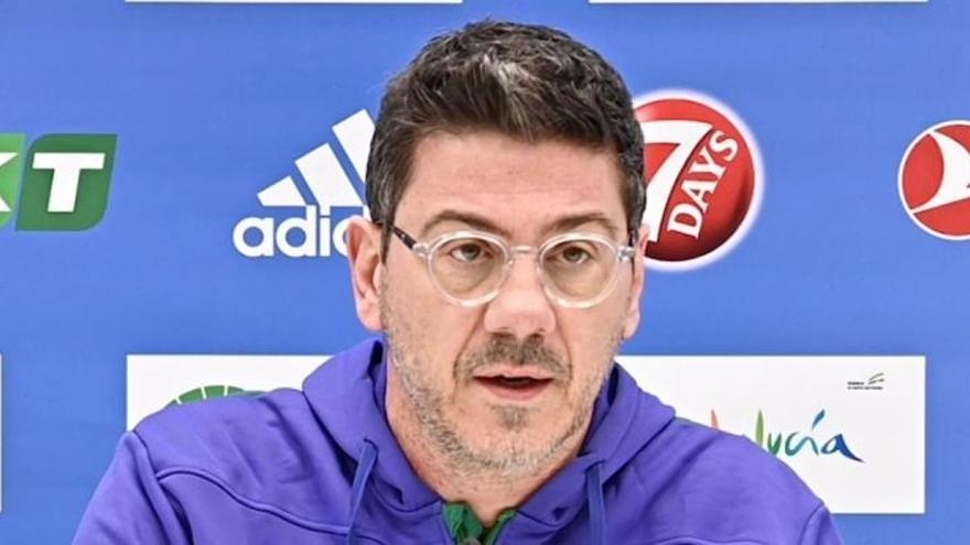"""Fotis Katsikaris: """"Alberto Díaz y Darío Brizuela van bien de sus lesiones, pero no jugarán contra el Monaco"""""""