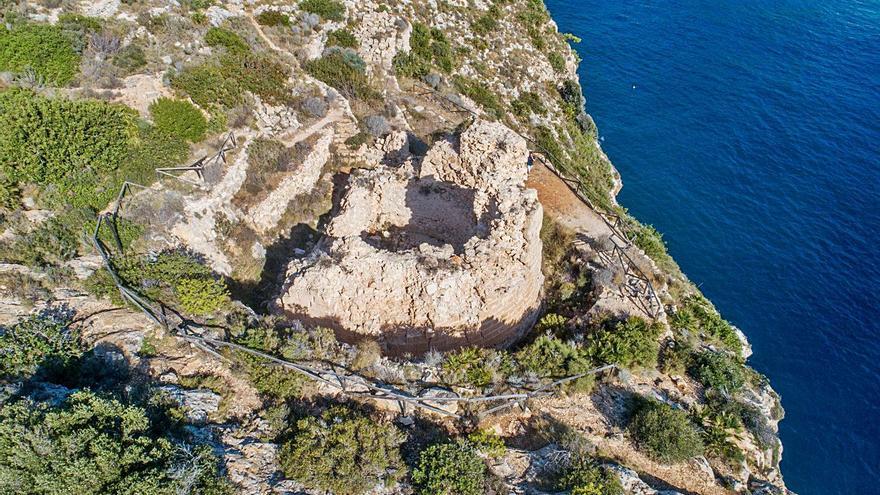 Xàbia busca subvenciones para la consolidación del Castell de la Granadella