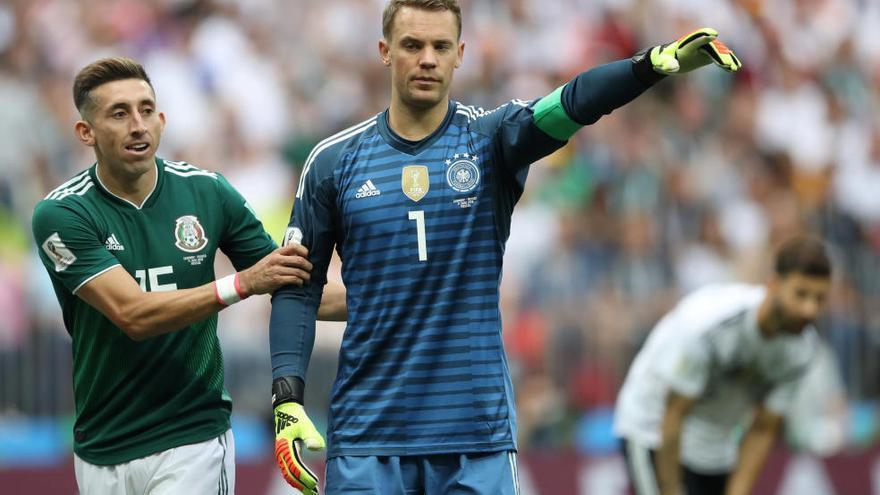 Mèxic amarga el debut de la vigent campiona