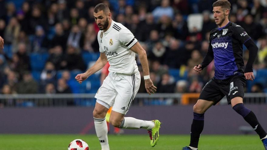 Copa del Rey: Real Madrid - Leganés