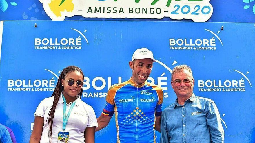 Un equipo profesional de ciclismo de Angola quiere instalar su sede en Carbayín