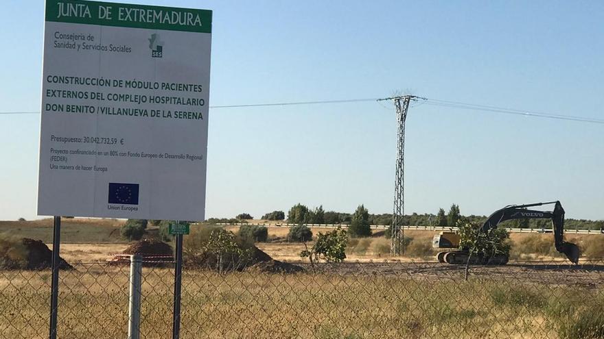 """El PP califica como """"una tomadura de pelo"""" las obras del nuevo hospital"""