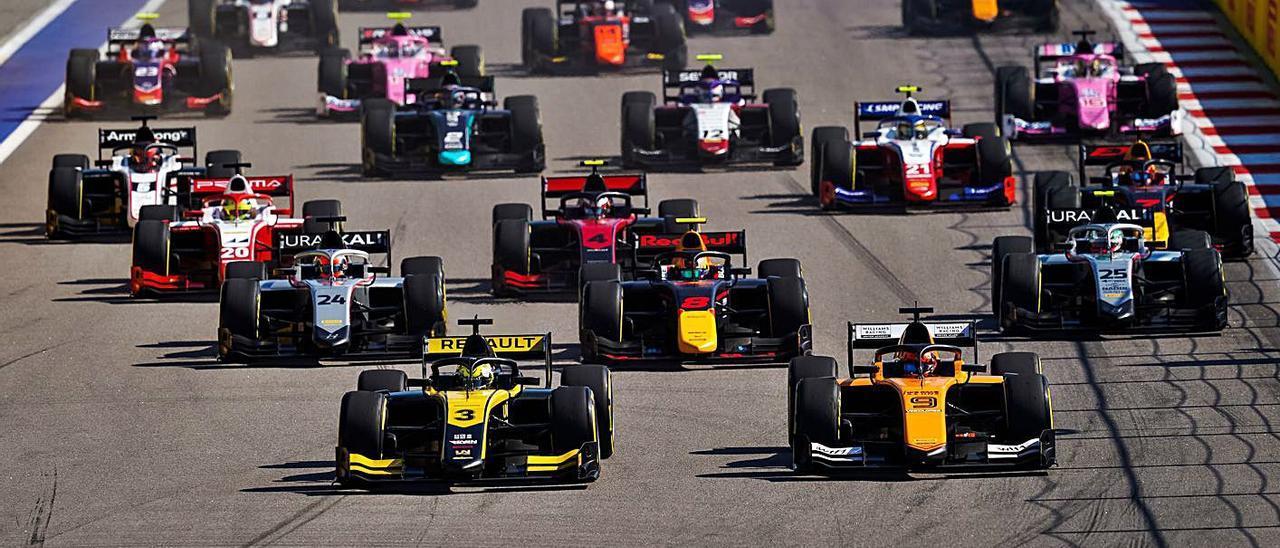 Botín de puntos de Campos  Racing en el circuito ruso