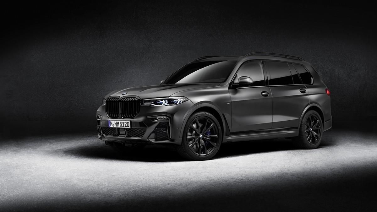 BMW crea la exclusiva Dark Shadow Edition para el X7