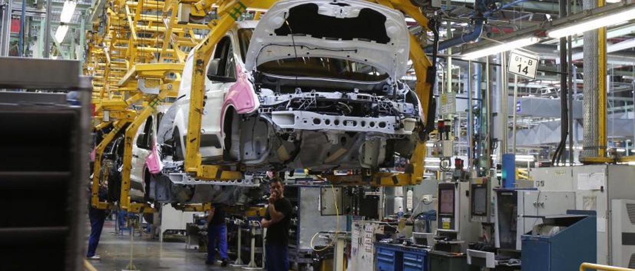 La planta de Ford en Almussafes