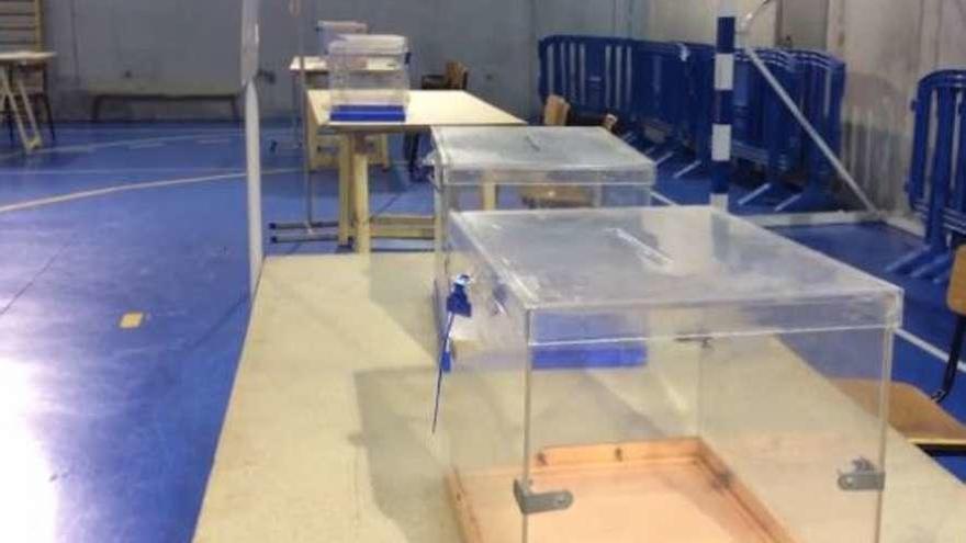 Los colegios electorales, listos para una jornada de bajas temperaturas