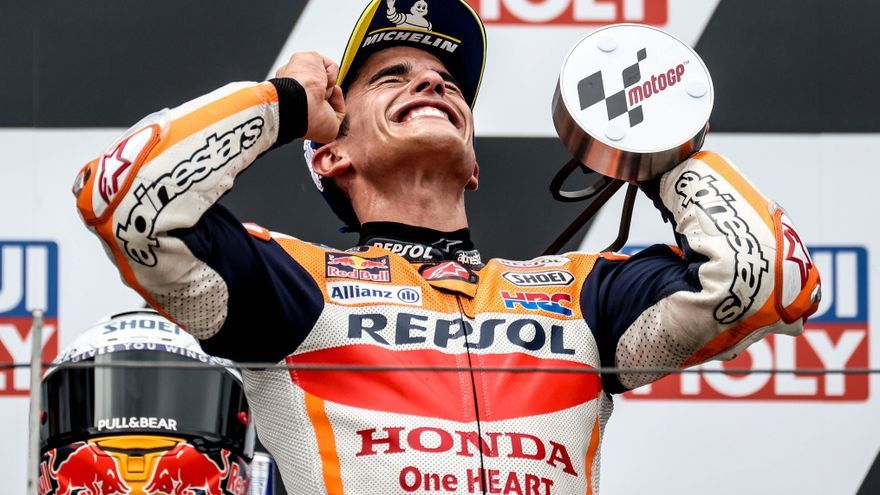 GP de Alemania: Marc Márquez toca el cielo en Sachsenring once meses después de su lesión