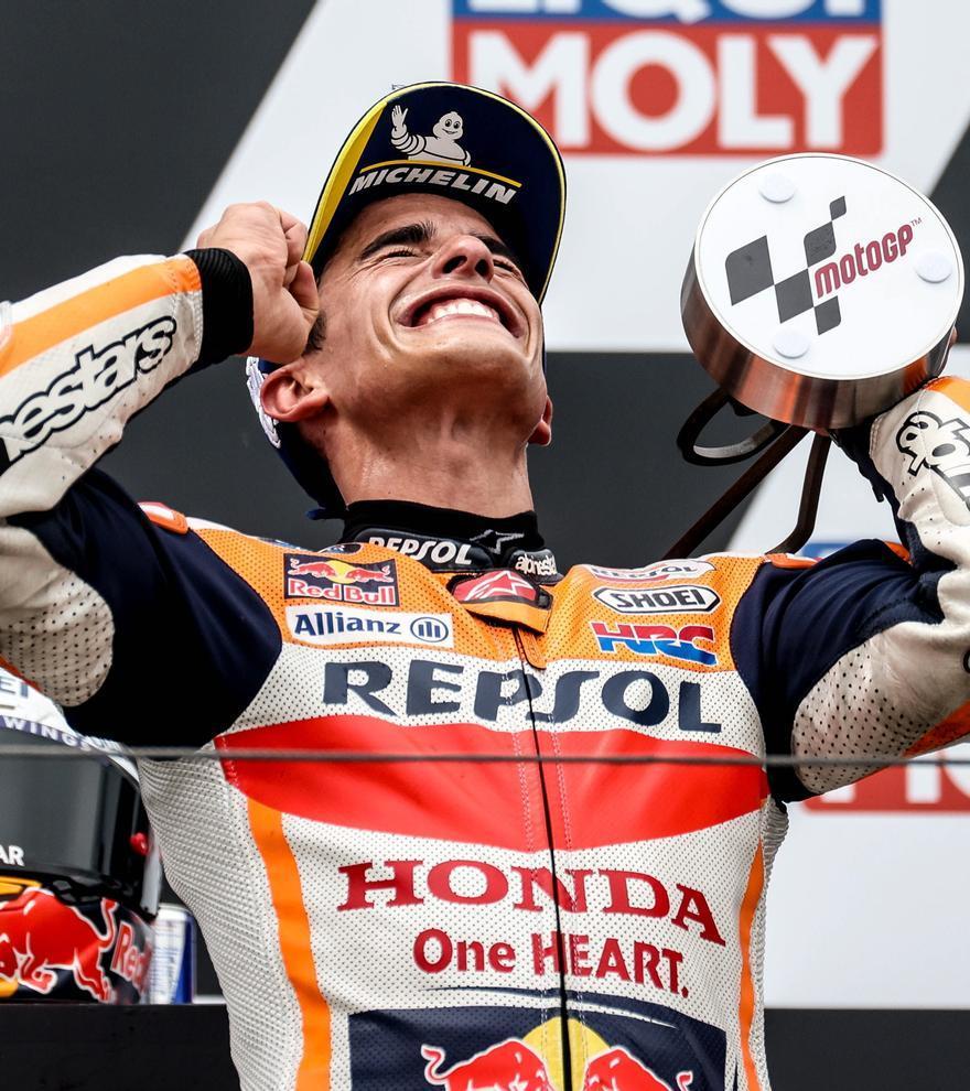 MotoGP: Marc Márquez conquista el GP de Alemania
