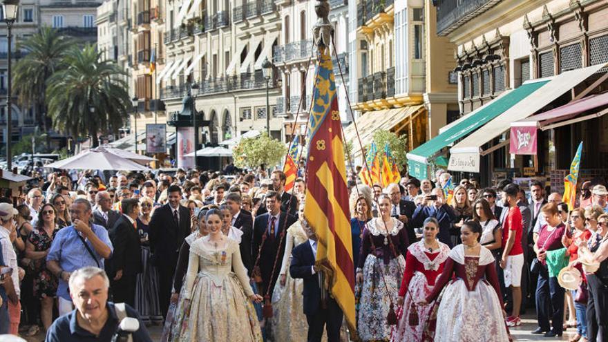 València intenta salvar el 9 d'Octubre con actos que no supongan un riesgo