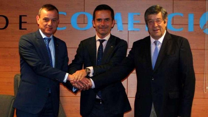 La Federación Gallega de Comercio renueva su convenio con Abanca