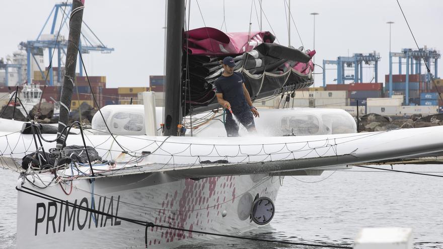 Los 'bólidos del mar' ya están en Las Palmas de Gran Canaria