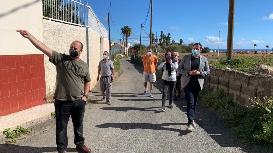 Telde conectará un grupo de casas de San Antonio a la red de saneamiento
