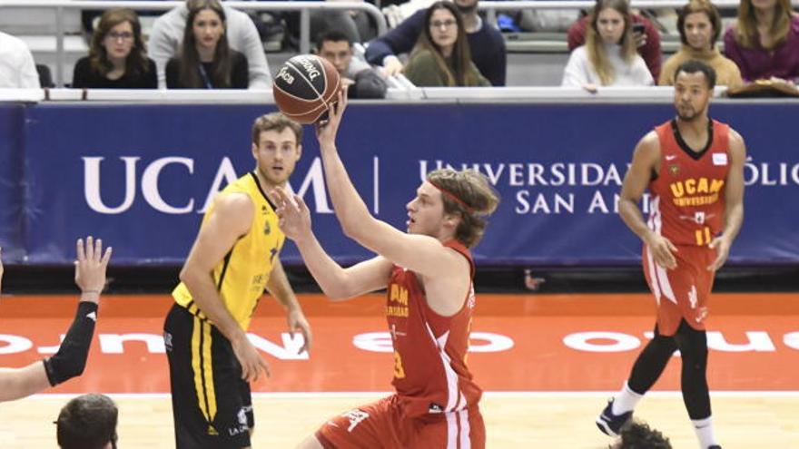 Lukovic se queda fuera de la convocatoria del UCAM Murcia