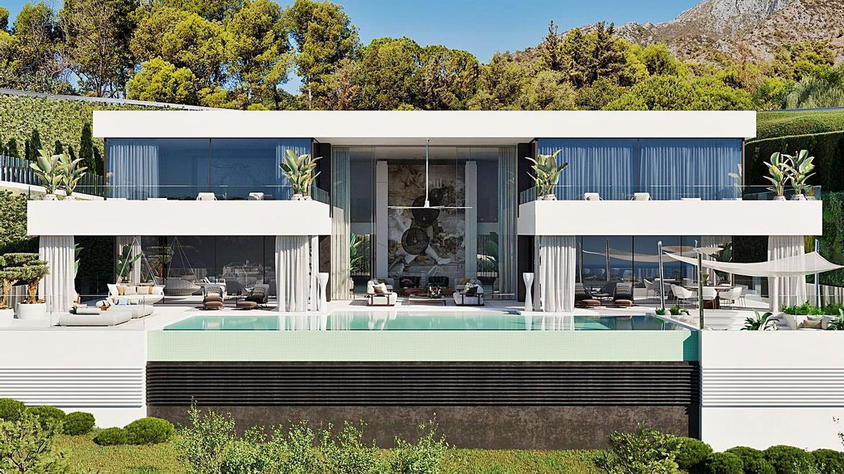 Una vivienda del segmento del lujo del mercado inmobiliario de Marbella. |