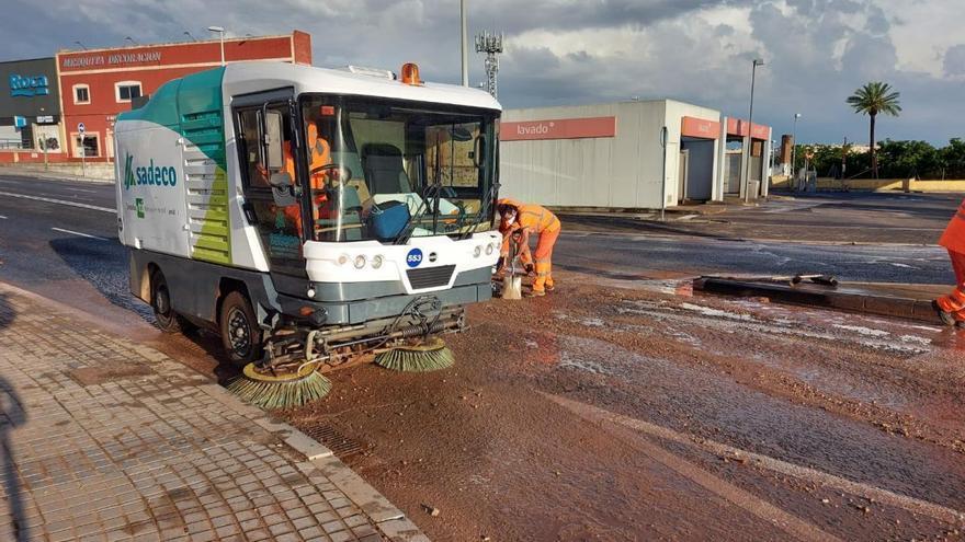 El Ayuntamiento realoja a una familia de Miralbaida afectada por las lluvias del martes