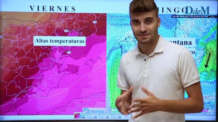 El tiempo del fin de semana en Mallorca: alivio térmico y Tramuntana