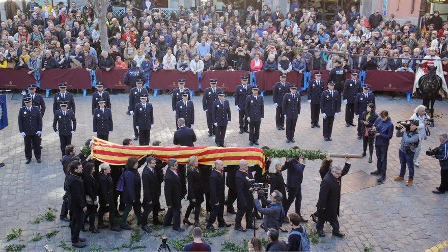 El ayuntamiento de Palma colocará el pendón del rei en Jaume en la plaza de Cort sin público