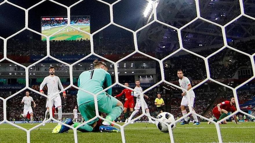 La noche de Ronaldo, De Gea y Costa