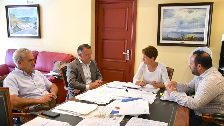 Mogán perfila su adhesión al nuevo convenio de colaboración de gestión catastral