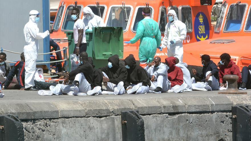 153 migrantes repatriados desde Canarias en dos meses