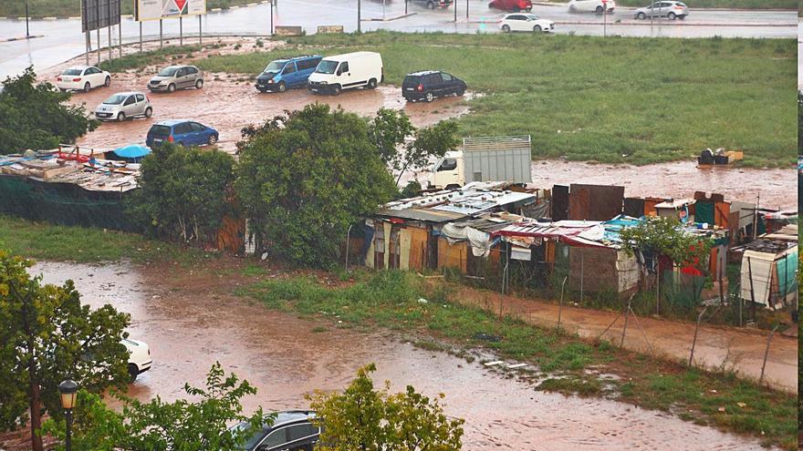 Inundaciones periódicas y asentamientos