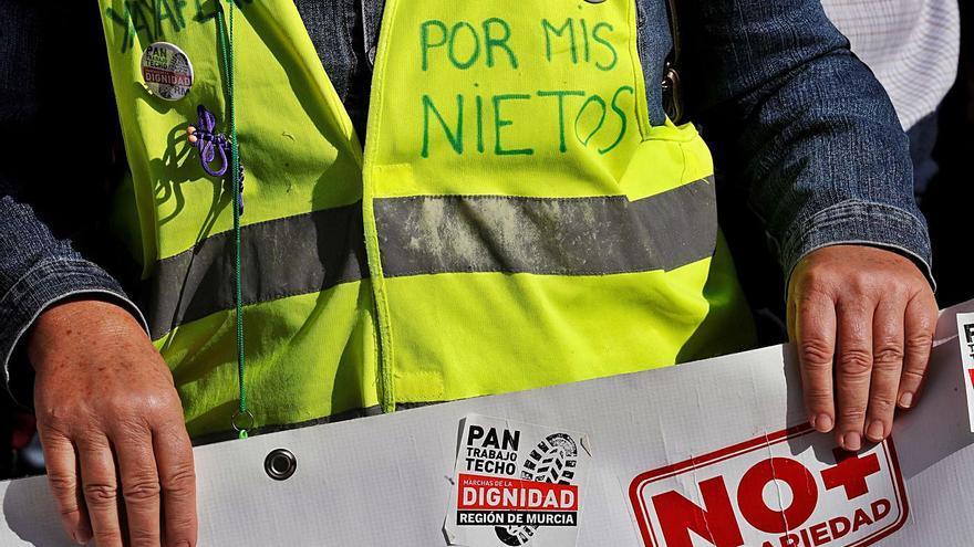 El número de pensiones en la C. Valenciana baja casi en 2.000 en agosto