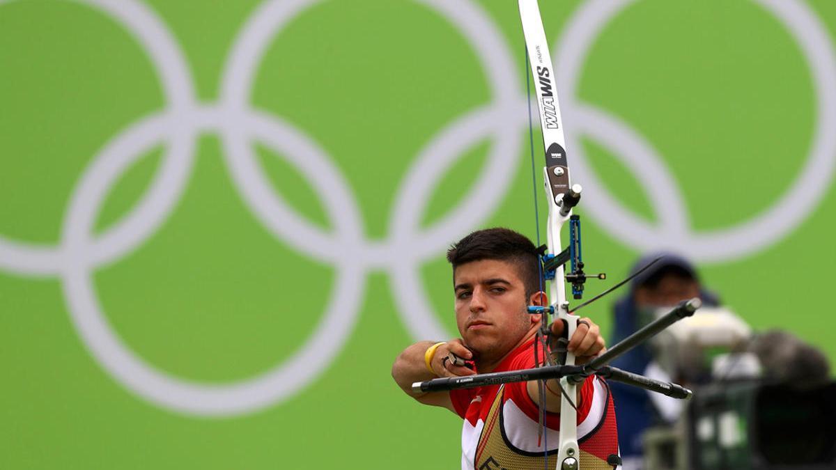 Miguel Alvariño en los JUegos Olímpicos de Río