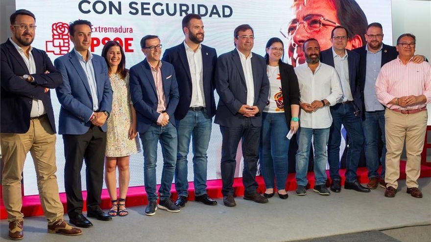 El PSOE ofrece a Cs conformar gobiernos conjuntos en Cáceres, Badajoz y Almendralejo