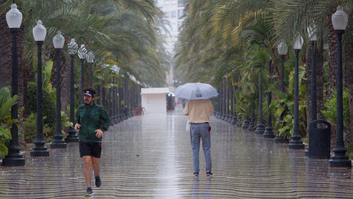 Tiempo en Alicante | El sábado se esperan lluvias en toda la provincia