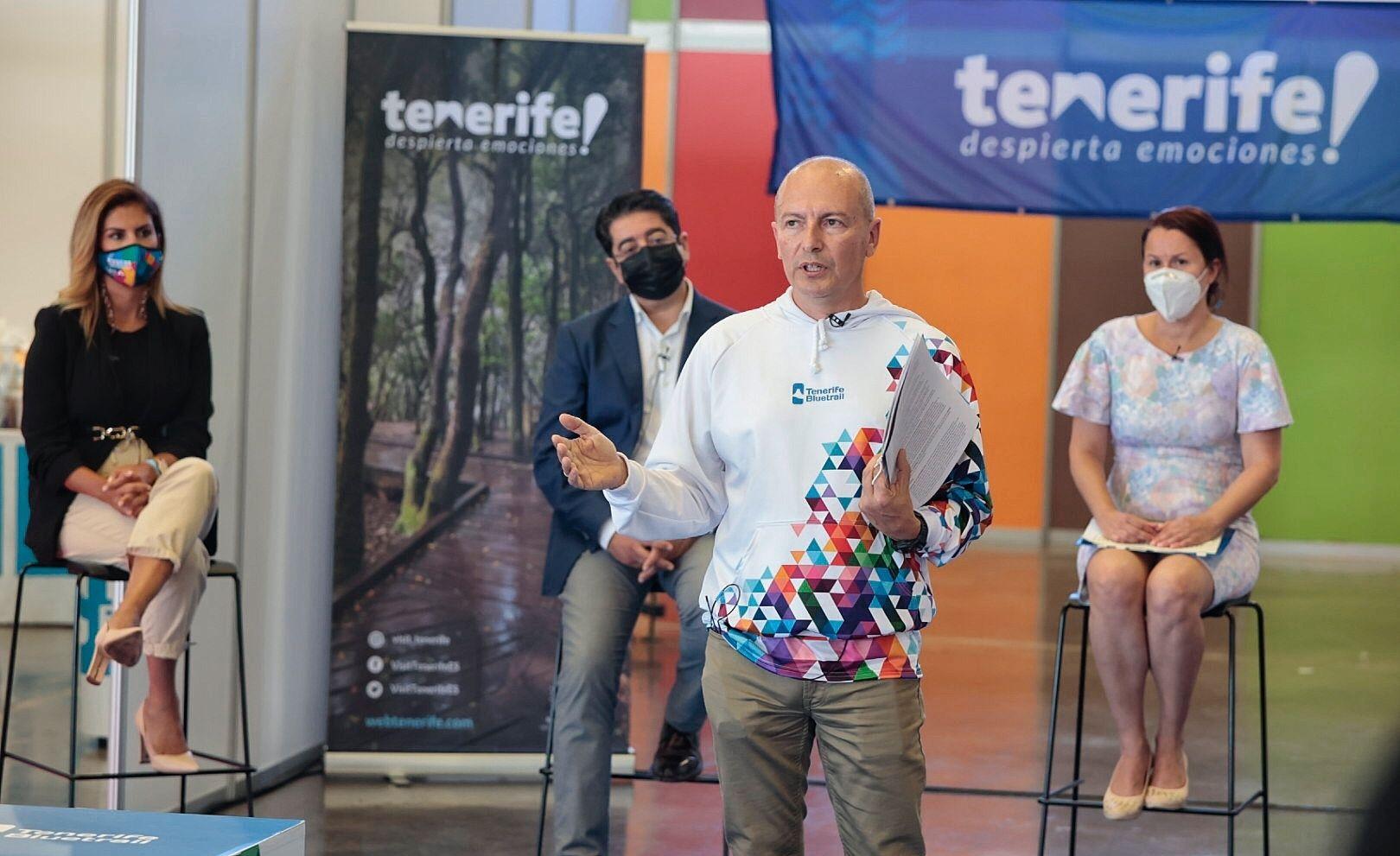 Presentación de la Tenerife Bluetrail