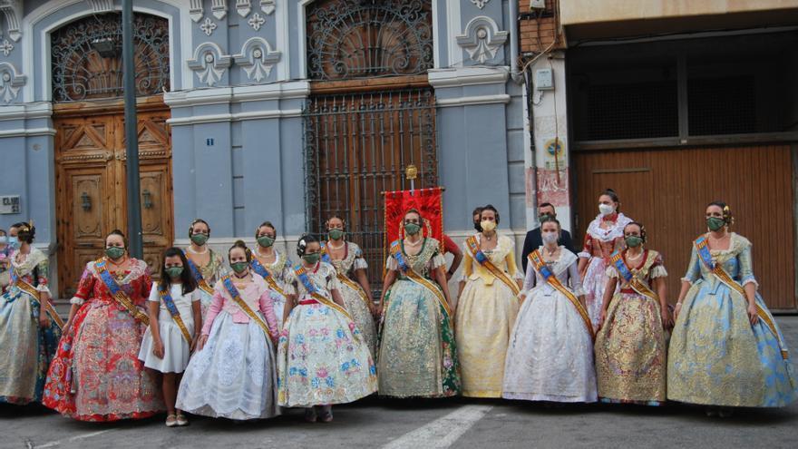 Las Fallas de Burriana salen a la calle a las puertas de la semana grande