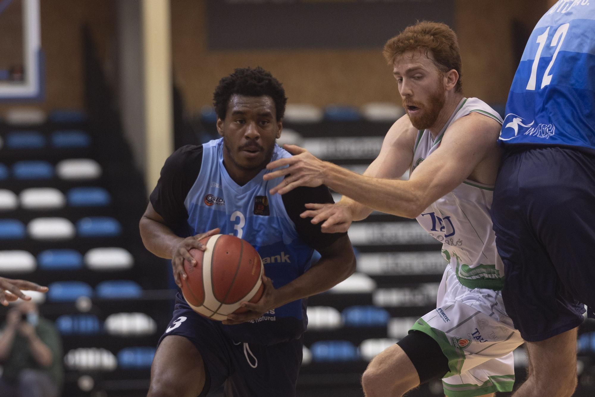 Nuevo recital del Oviedo Baloncesto: gana al Castelló por 91-77