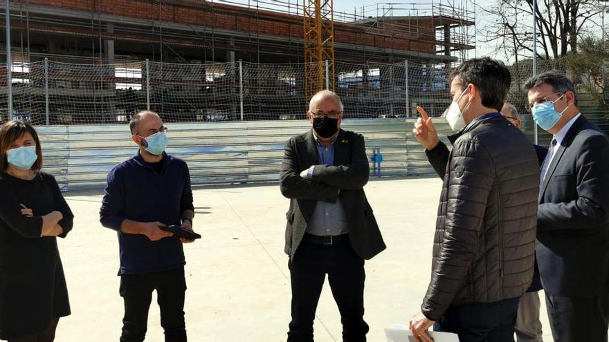 Bargalló anuncia que el nou edifici de l'institut Josep Brugulat de Banyoles s'enllestirà a principis del curs vinent