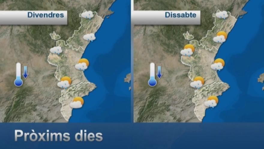 El tiempo en Valencia: Calor asfixiante antes de que llegue el temporal y las lluvias