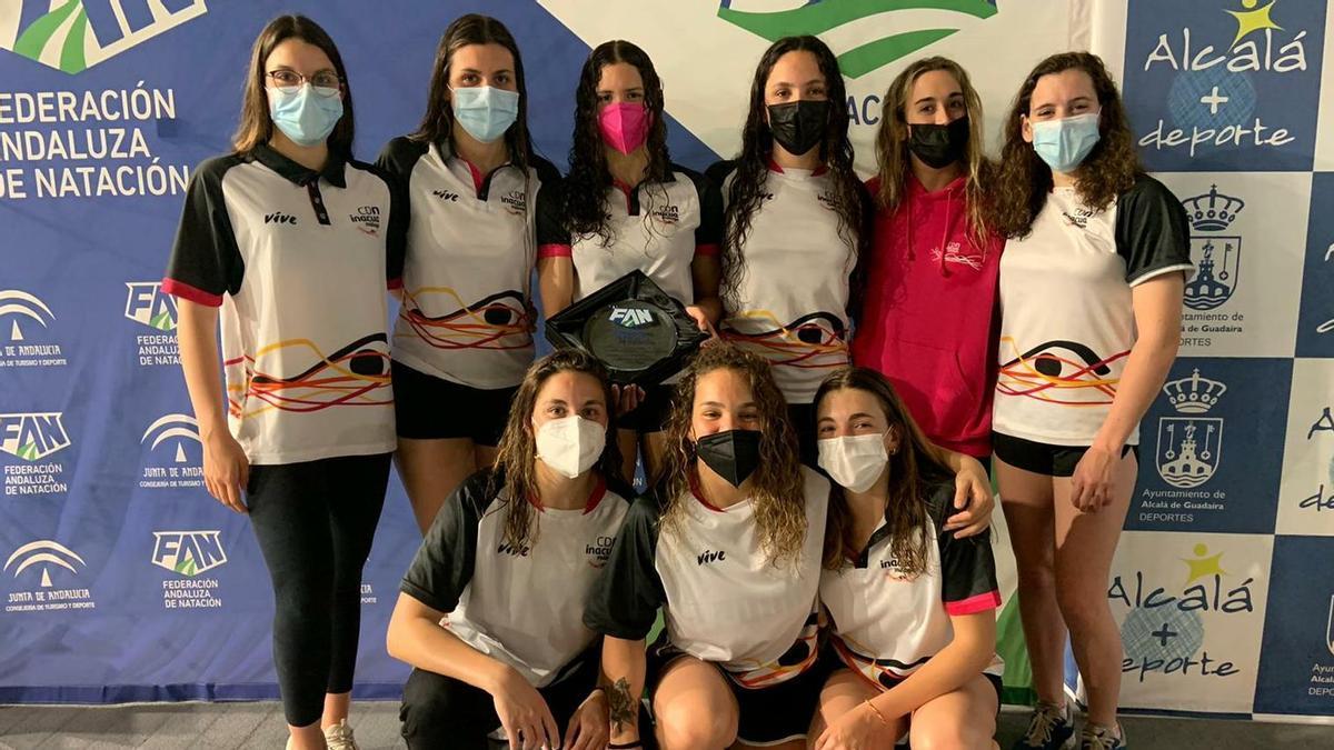 Imagen del equipo femenino del CDN Inacua.