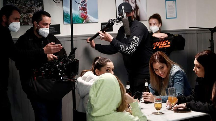 El cine en los tiempos del coronavirus: sets blindados y rodajes a modo de búnker