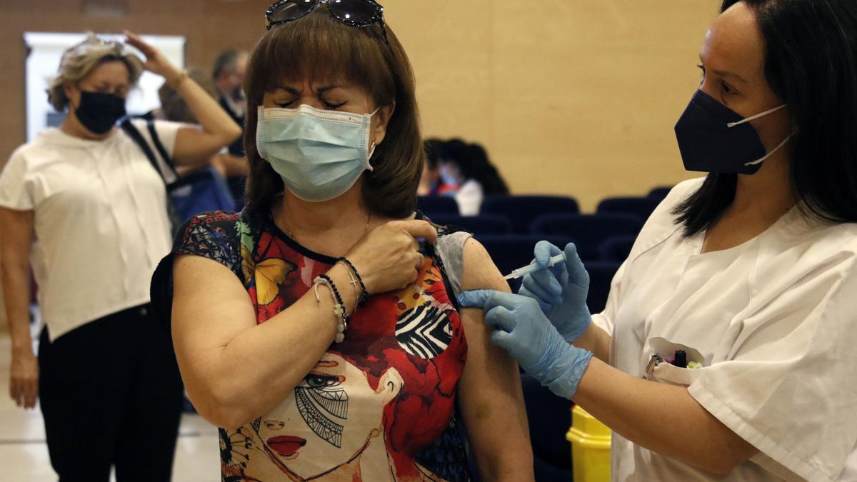 Vacunación en Córdoba.