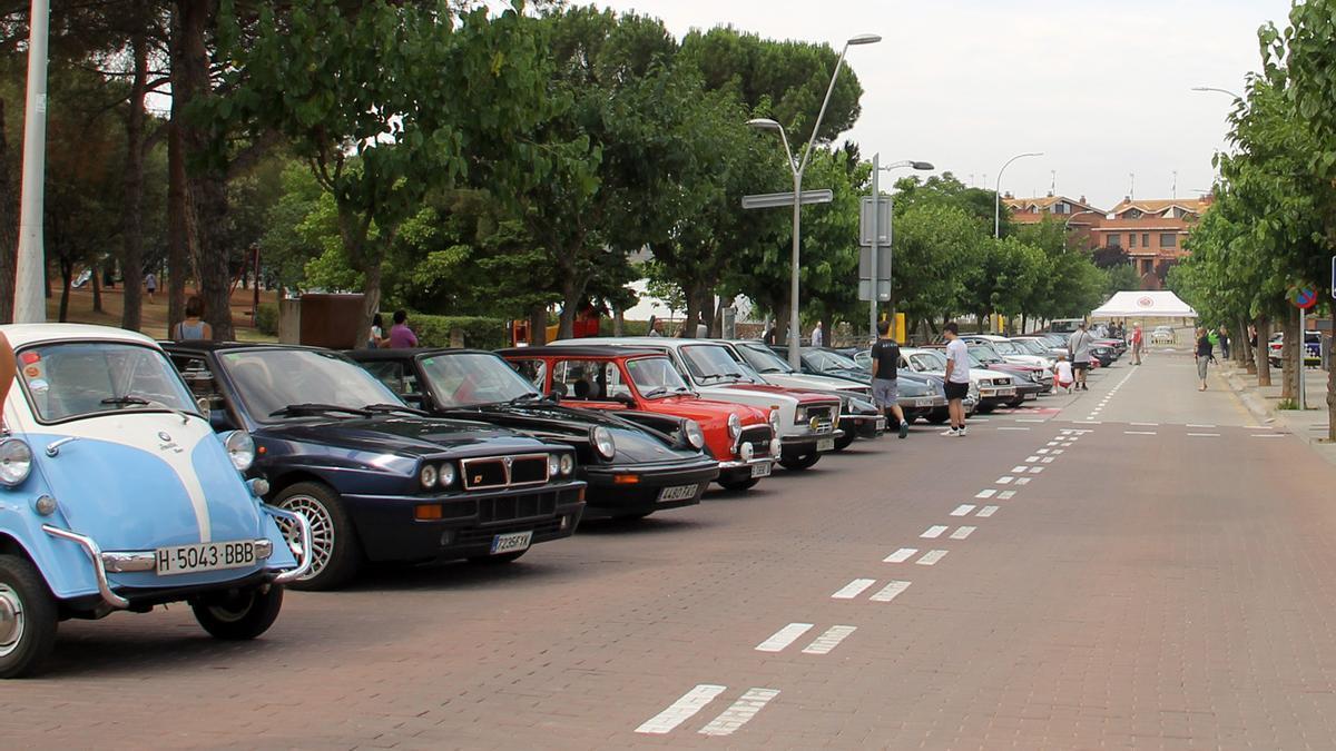 Concentració de cotxes clàssics