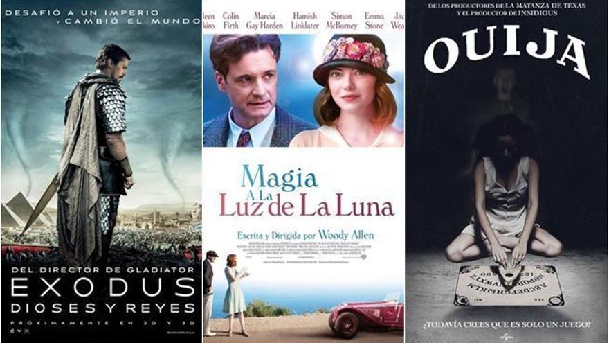 Ridley Scott y Woody Allen se baten en duelo en los cines