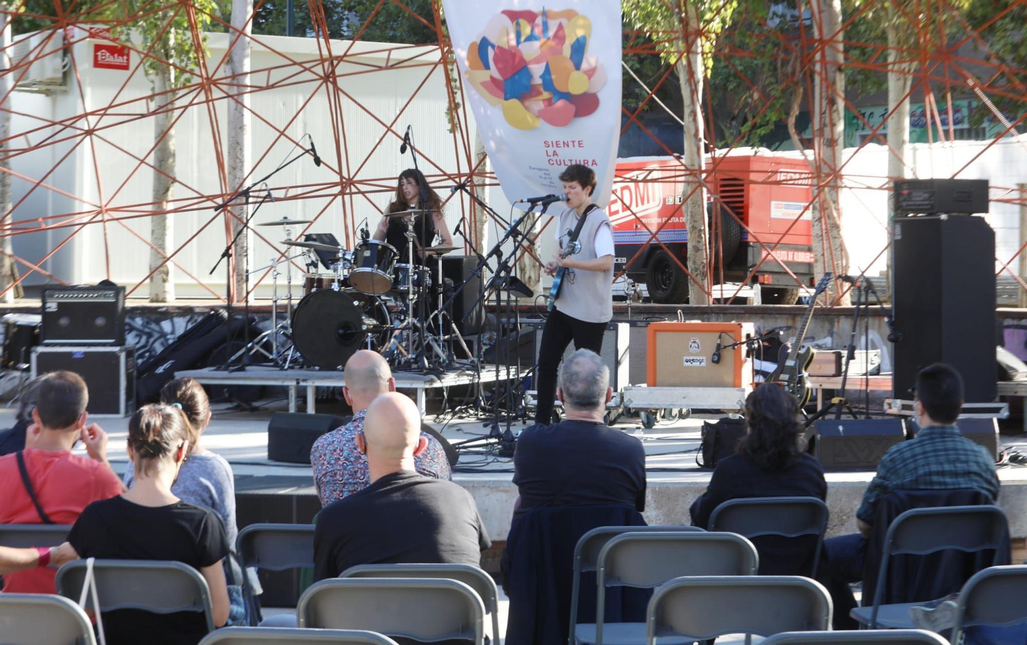 Las mejores imágenes del concierto de Biznaga y Lady Banana en las fiestas del Pilar