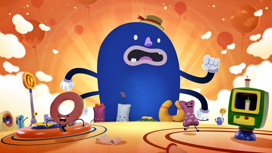 Un corto animado infantil creado con triple técnica