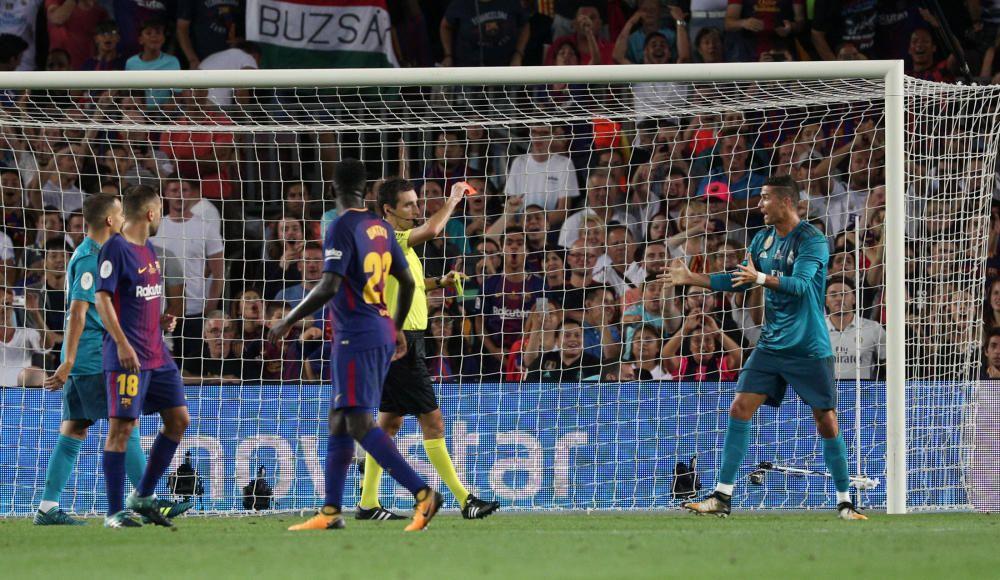 Supercopa de España: Barcelona - Real Madrid